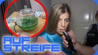Alkohol in der Bowle: Hat die Schwangere davon getrunken? | Auf Streife | SAT.1