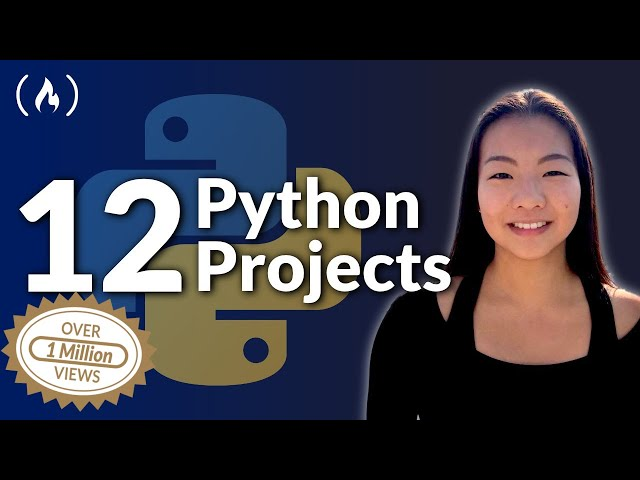 12 Beginner Python Projects - Coding Course