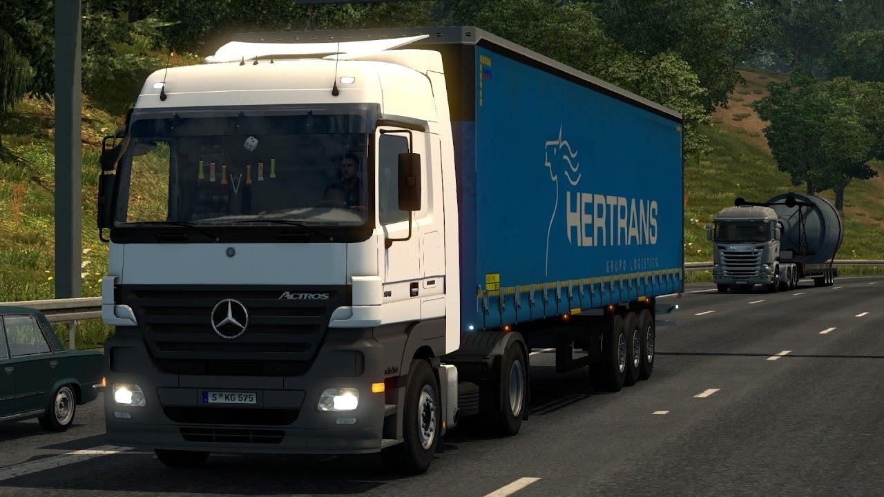 Mercedes benz actros 1841 more information -  1 26 Mercedes Benz Actros Mp2 Review Youtube