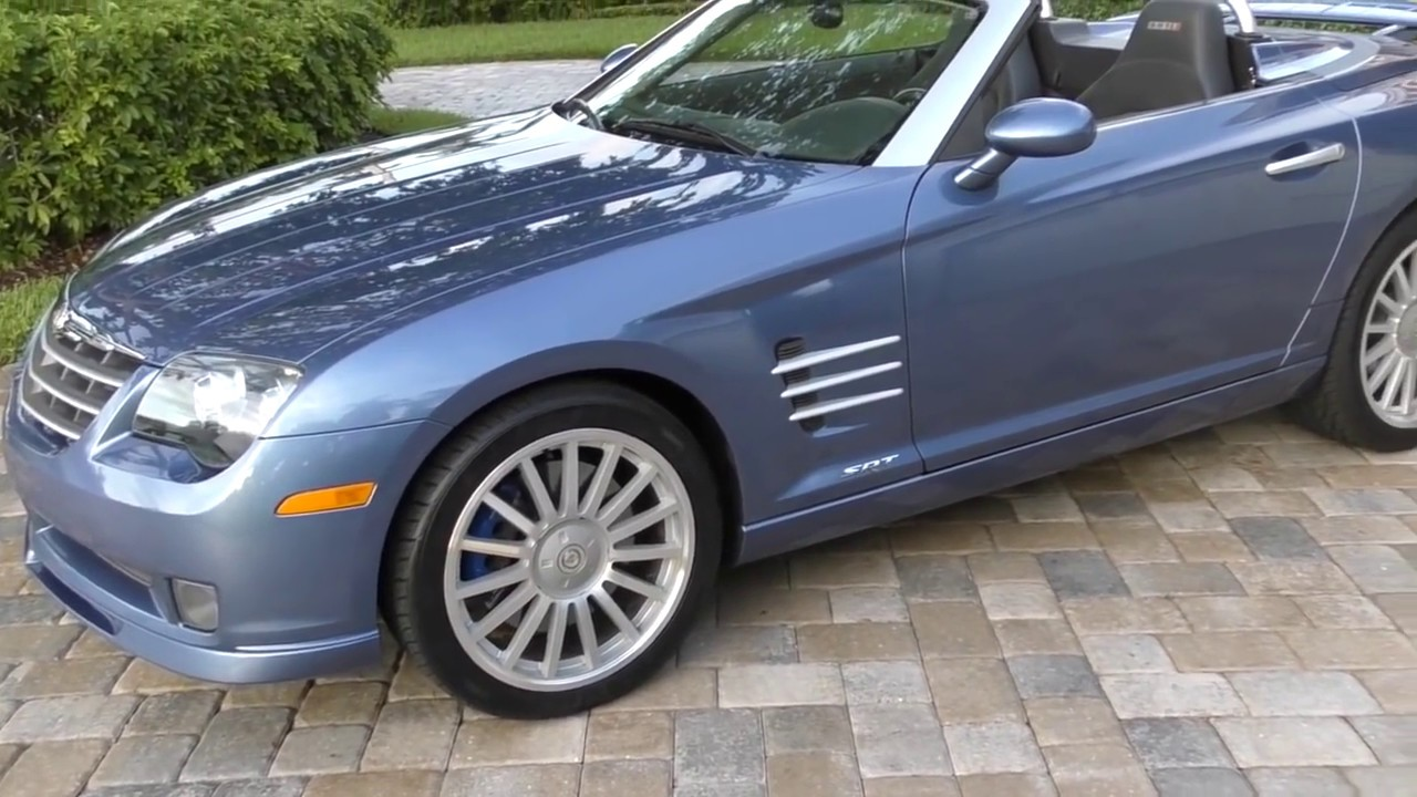 2005 Chrysler Crossfire Srt 6 Roadster Review And Test Drive By