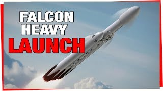 SpaceX Falcon Heavy Test Flight - Launch and Landing
