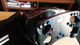 Unboxing Fanatec CSW Base v2 & Formula Rim