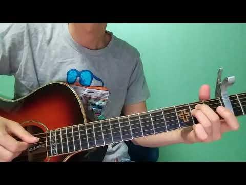 "benny blanco,Halsey&Khalid - ""Eastside"" guitar tutorial"
