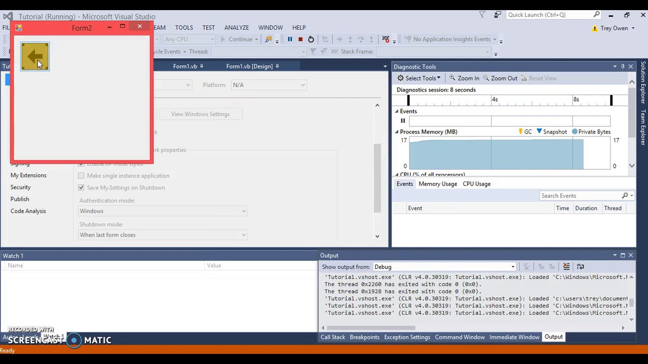 Visual Basic   Part 1 - Getting Started with Forms
