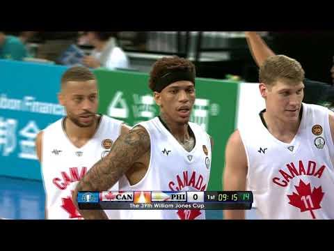 3D Canada vs Gilas Pilipinas (Philippines) Jones Cup 2017