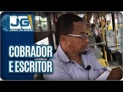 Um Cobrador de ônibus que também é um escritor do cotidiano de SP