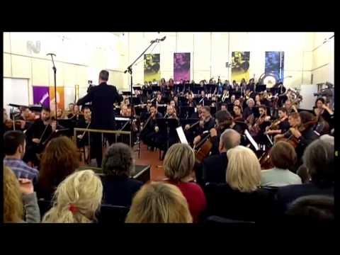 Ottorino Respighi ,Pini di Roma- clarinet solo Angelos Politis- Greek Radio Orchestra