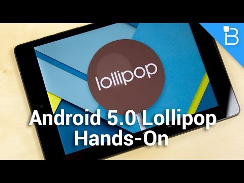 Android 5.0 Lollipop Hands-On