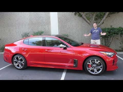 Вот почему Kia Stinger GT 2018 года стоит 50 000