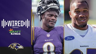 Lamar Jackson, J.K. Dobbins and More Mic'd Up in Ravens Wired: Training Camp Part Two