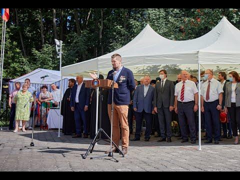 В Орловской области открылся обновленный мемориал танкистам  / скульптор Андрей Следков