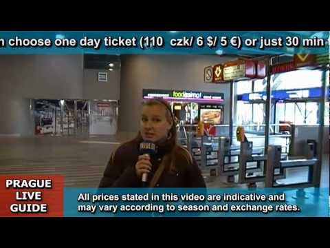Prague public transport video guide part 1 - trains, metro, buses, trams