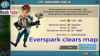 20/3/2017 Boom Beach Hero Update Cpt Everspark V's Blackguard Bases Gameplay