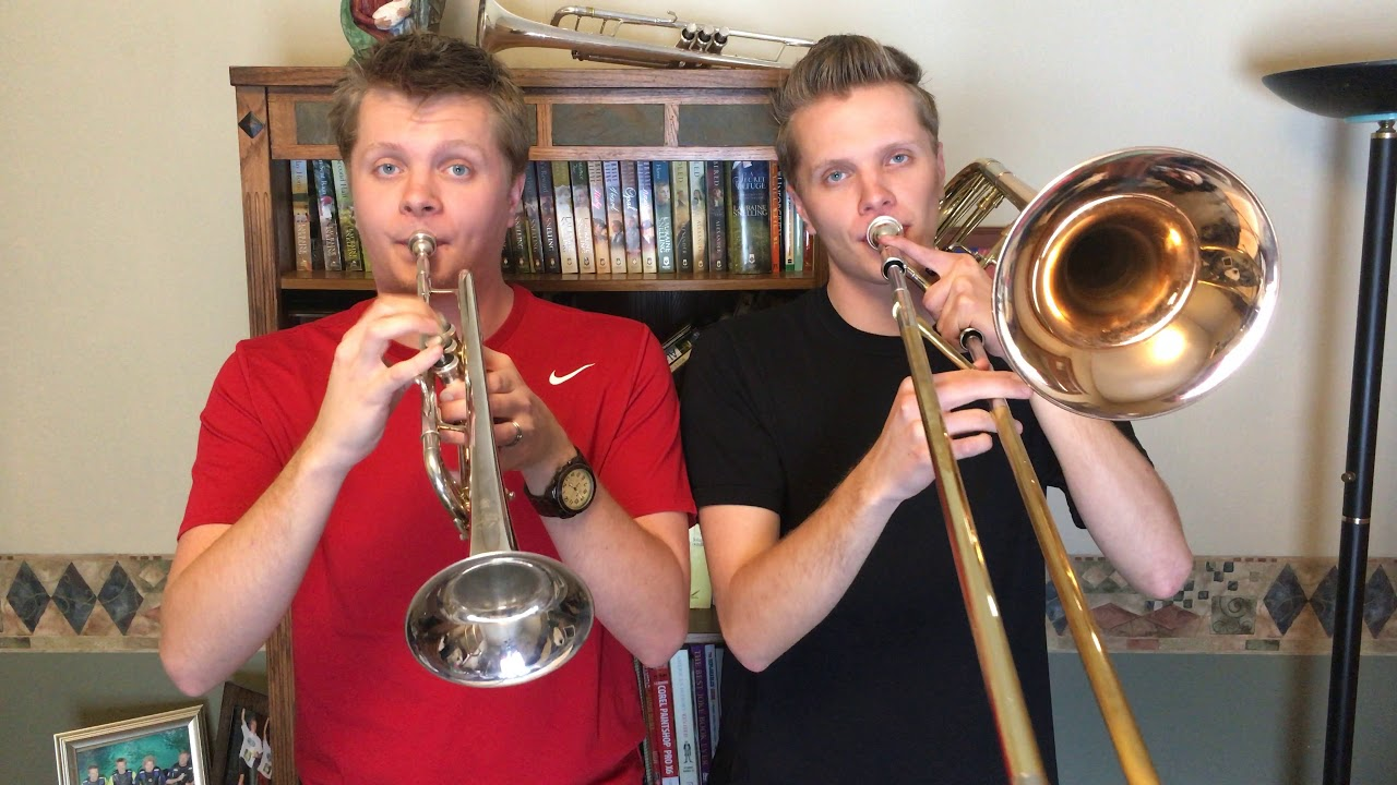 Matthew Jermiason and Twin Brother Play Original Arrangement of Auld Lang Syne