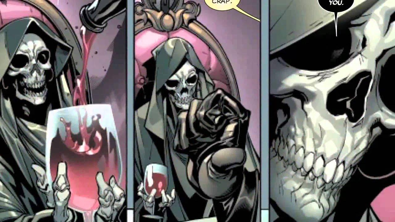 Death And Deadpool Romance