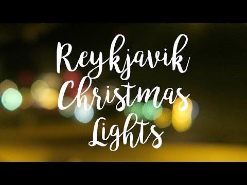 Reykjavik Christmas Lights - Living in Iceland | Sonia Nicolson