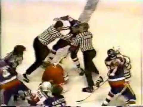 Pat Hickey vs Duane Sutter Oct 2, 1979