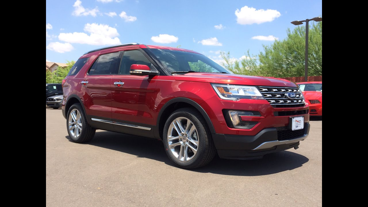 2016 ford explorer limited walkaround youtube. Cars Review. Best American Auto & Cars Review