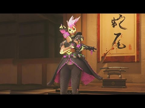 Overwatch: Every Sombra Skin, Emote And Highlight Intro