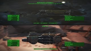 Fallout 4 Rare Weapon Guide - Junk Jet/Righteous Authority (TWO FOR ONE)