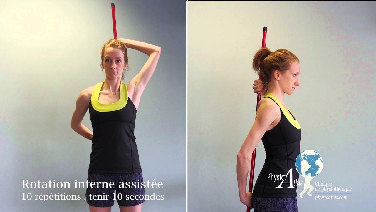 Super Exercices pour capsulite de l'épaule - YouTube SH84