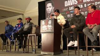 Gervonta Tank Davis LOL When A Fan Yells At Him
