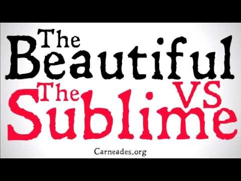 The Beautiful and The Sublime (Aesthetics)