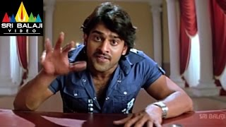 Munna Movie Prabhas Waring to Prakash Raj Scene | Prabhas, Ileana | Sri Balaji Video