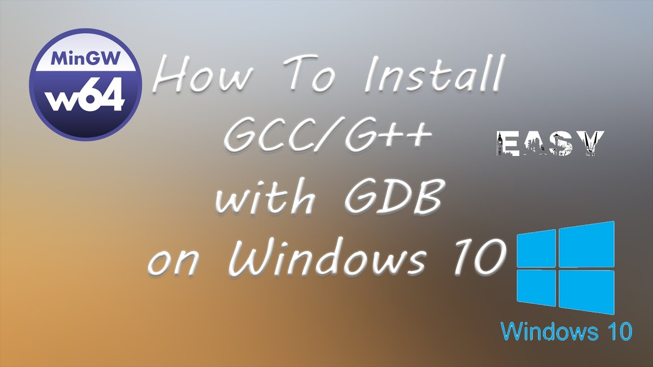 install gcc windows 7 64 bit