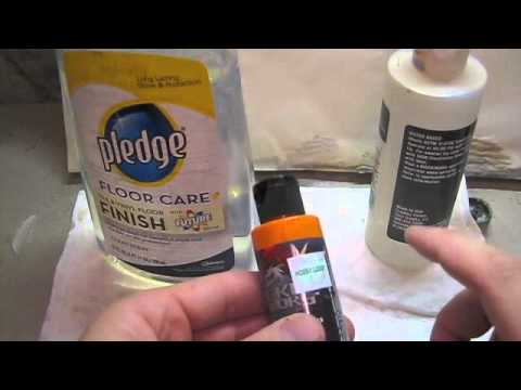Thinning Paint for an airbrush