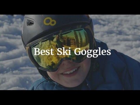 31d7381eb856 Best Ski Goggles - YouTube