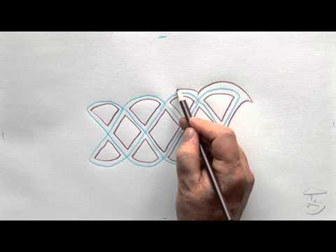 How To Draw A Solomon Celtic Knot