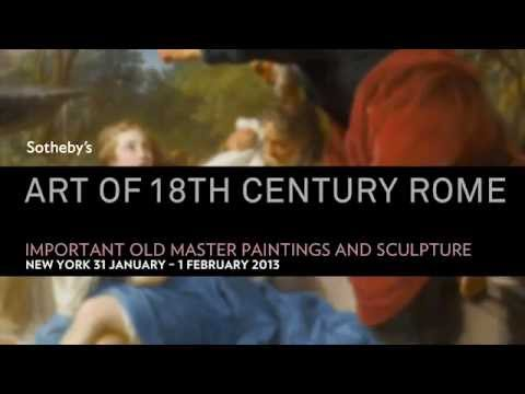 Art of 18th Century Rome