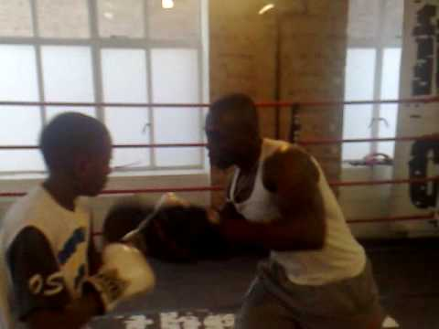 Otuo Saba (Christmas Day 08 Workout) - Pad Work & Interview