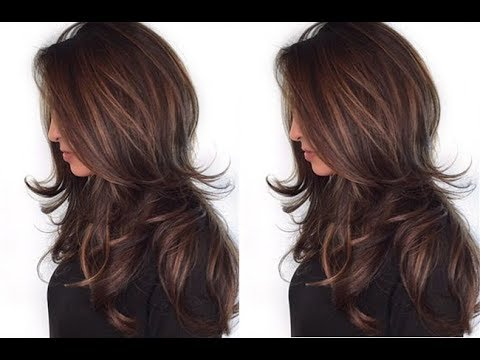 layered long hair style how to and easy layered haircut tutorial 8326 | hqdefault