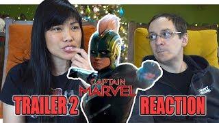 Captain Marvel Trailer 2 Reaction   Am I Body Shaming Brie Larson?   Vlogmas Day 5
