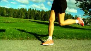 Ground Contact Landing and Push Off (Forward Running Tips)