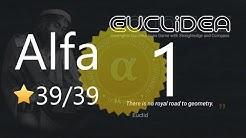 Euclidea 1. Alfa 39/39