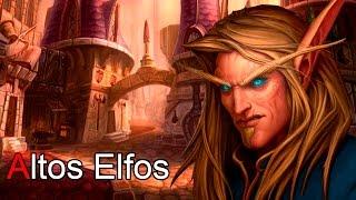 World of Warcraft el Lore de los Altos Elfos por Dange