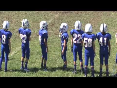 RJ Collins 4th grade football highlights