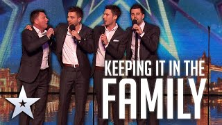 Simon Cowell's HEART MELTS after hearing this father, son group perform! | Britain's Got Talent