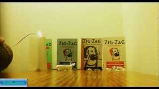 Comparing Zig-Zag rolling papers