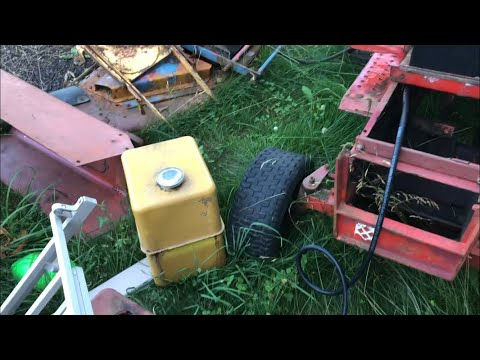 Used Gas Tank Installation Gravely 8162-T Rehab Part 7