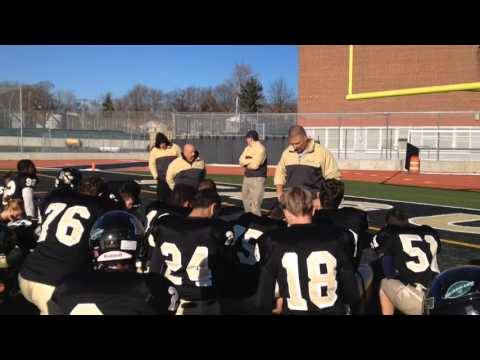 A coach's thanks after numbing loss