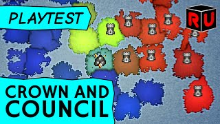 Crown and Council: Free game from the makers of Minecraft! (PC gameplay review)