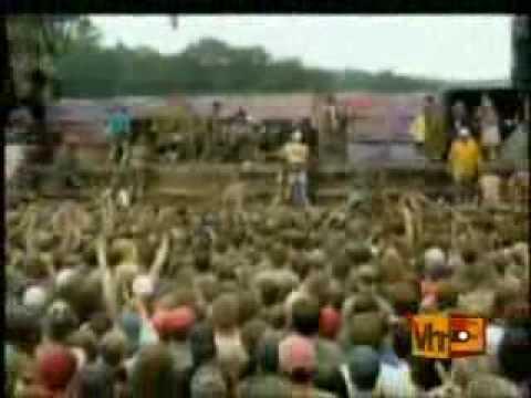 Woodstock '94 Mudstock Green Day Mud Fight   Sunny 98 1 FM