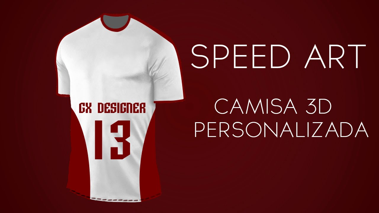 2  Speed Art Photoshop - Camisa 3D Personalizada - YouTube 9b05eccbb9816