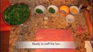 Mothers Day 2012 - Making A Pork Roulade