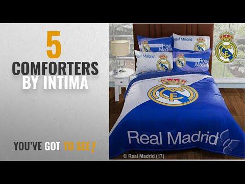 Top 10 Intima Comforters [2018]: Real Madrid Champions Comforter Set Queen