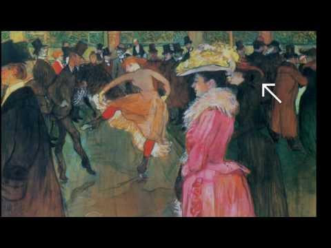 Bal au Moulin Rouge, Toulouse-Lautrec
